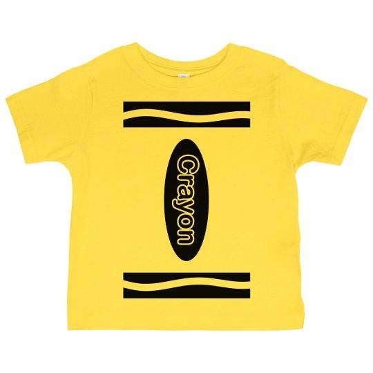 Yellow Crayon Costume