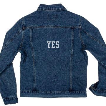 Yes Denin Jacket