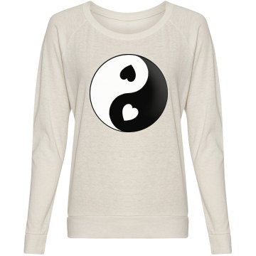 Yin Yang Love Heart Shirt