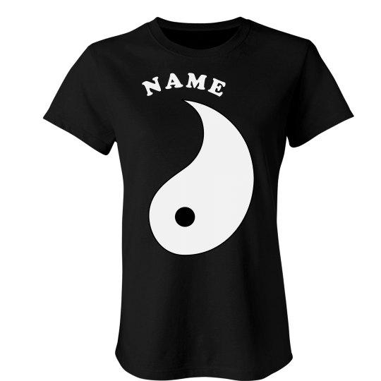 Yin Yang Matching Bff Tee