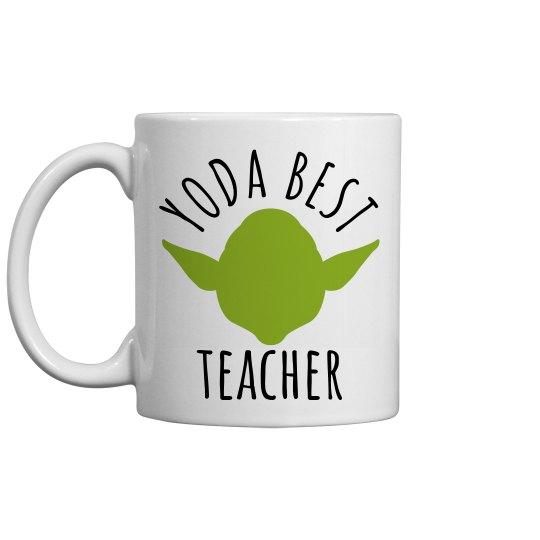Yoda Best Custom Teacher Gift