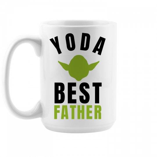 Yoda Best Father Large Coffee Mug