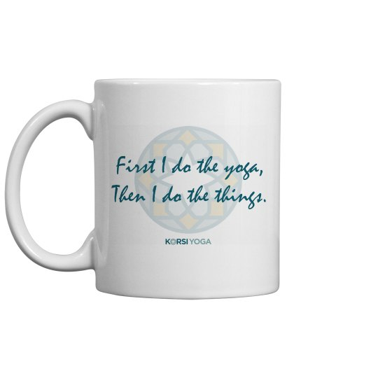 Yoga First - Mug
