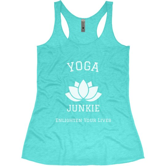 Yoga Junkie Enlighten Your Lives
