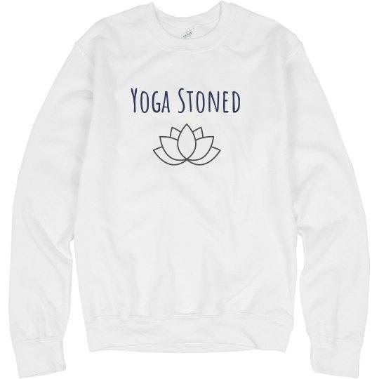 Yoga Stoned sweatshirt