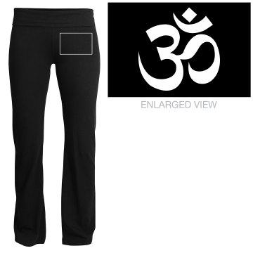 Yoga Symbol Yoga Pant