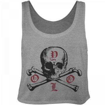 YOLO Skull Fashion Tee