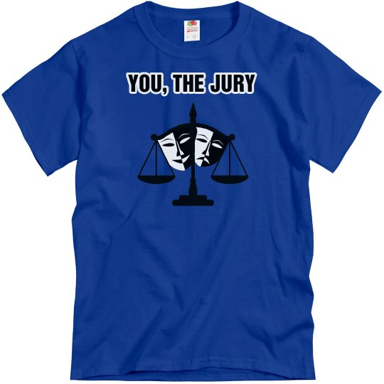You, The Jury-Front and Back