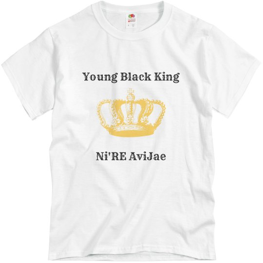 Young Black King
