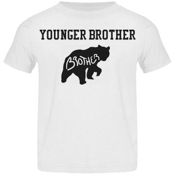 Younger brother cub