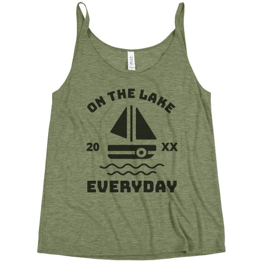Your Custom Lake Day Tank