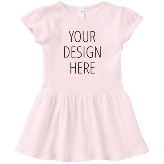 Your Design Here Custom Kids Dress