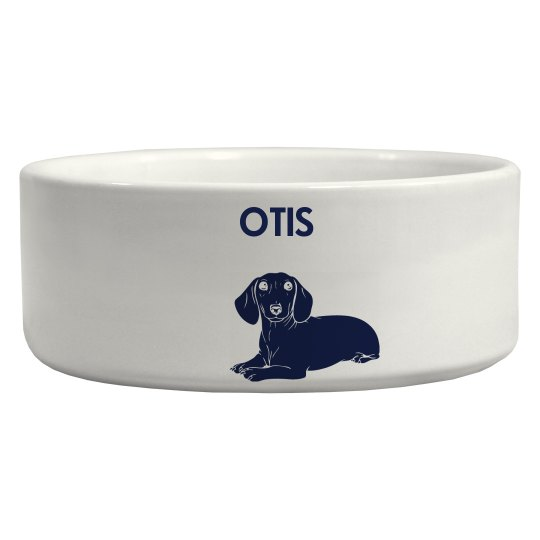 Your Dogs Name Dog Bowl