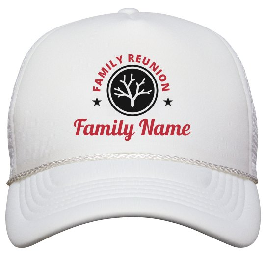 Your Family's Custom Reunion Hat