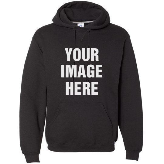 Your Image Here Custom Hooded Sweatshirt