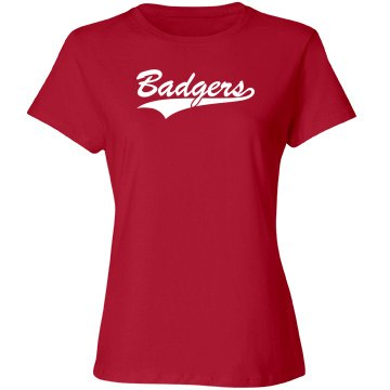 Your name badgers shirt
