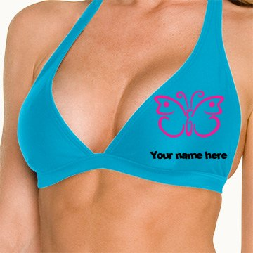 Your name here bikini top