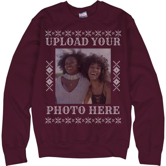Your Photo Here Custom Ugly Sweaters