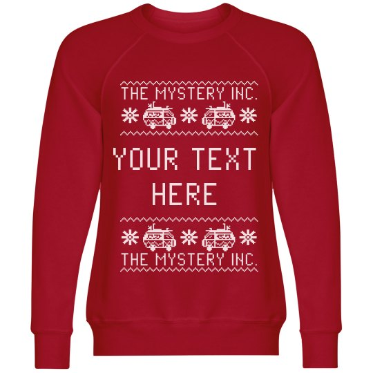 Your Text Mystery Van Sweater