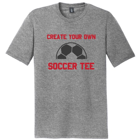 Your Text Soccer Tee