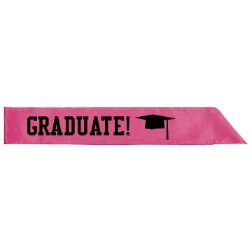 You're A Graduate Now