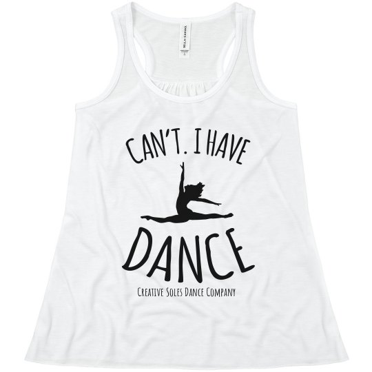 Youth - Can't. I Have Dance Tank