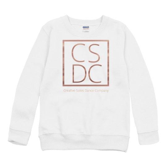 Youth - Copper Metallic Crewneck Sweatshirt