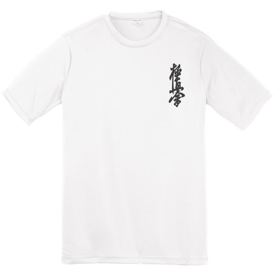 Youth Athletic Performance Tee with Kanji and Logo