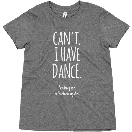 Youth Can't I Have Dance T APA
