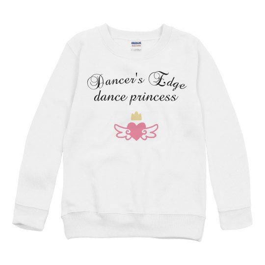 youth dance princess sweatshirt