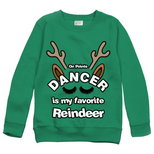Youth Dancer Christmas sweater