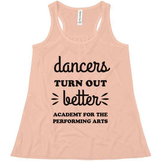 Youth Dancers Turn Out Better Tank APA