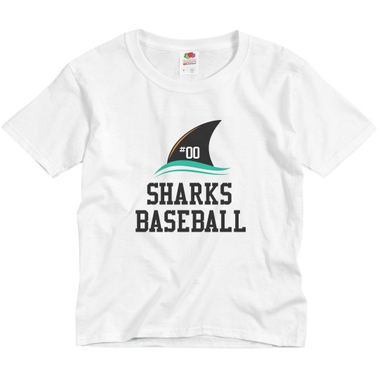 Youth Dry Fit - Sharks Ball