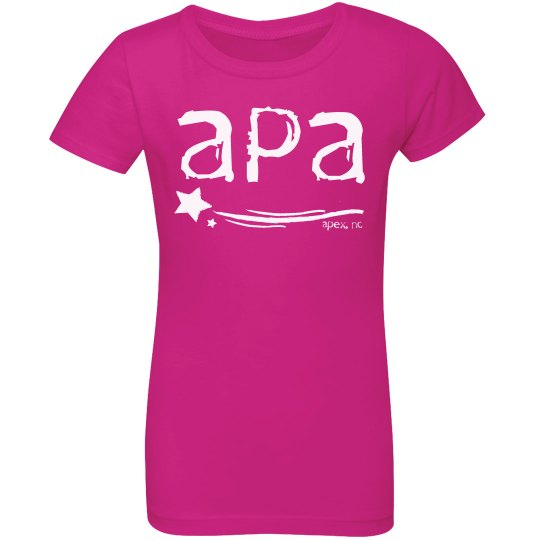 Youth Girls APA T-shirt
