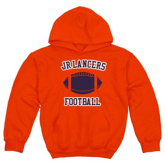 Youth Hoodie Football