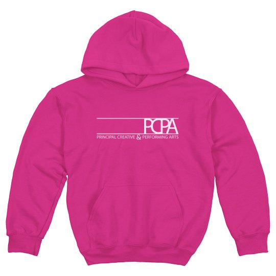 Youth Hot Pink Hoodie