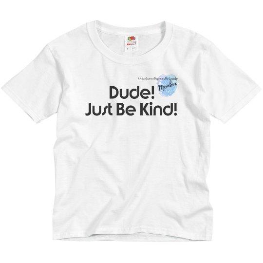 YOUTH Kbb Member Dude tshirt