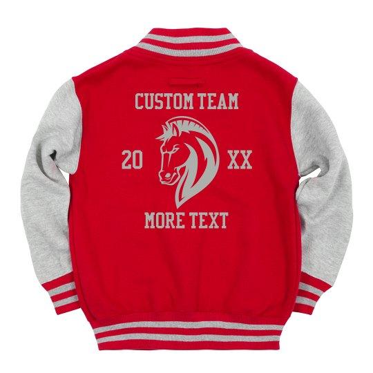 Youth Mascot Custom Team Jacket
