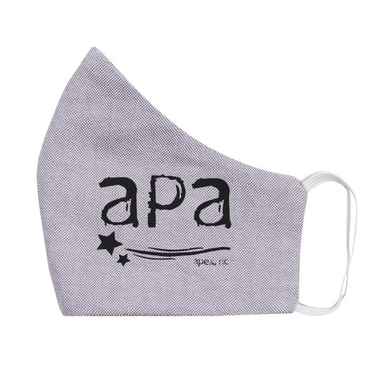 Youth Mask Two Sided APA Black