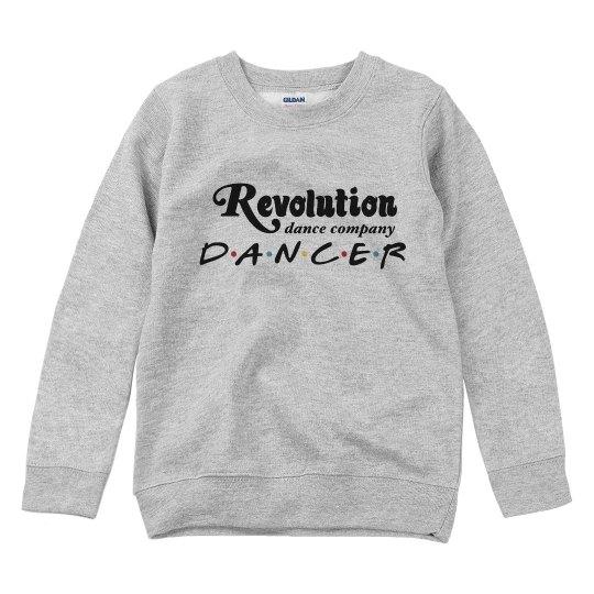 Youth Revolution Dancer sweatshirt