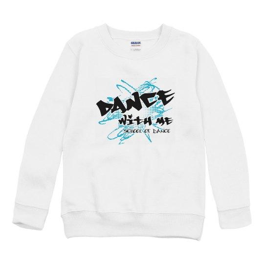 Youth sweatshirt logo