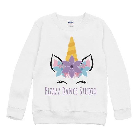 youth sweatshirt unicorn