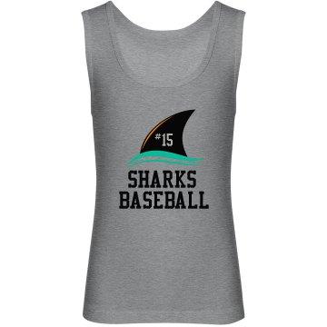 Youth Tank - Sharks Baseball