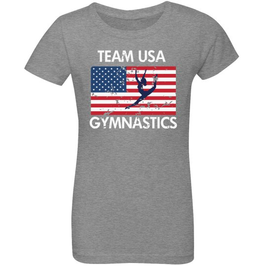 Youth USA Gymnastics Tee