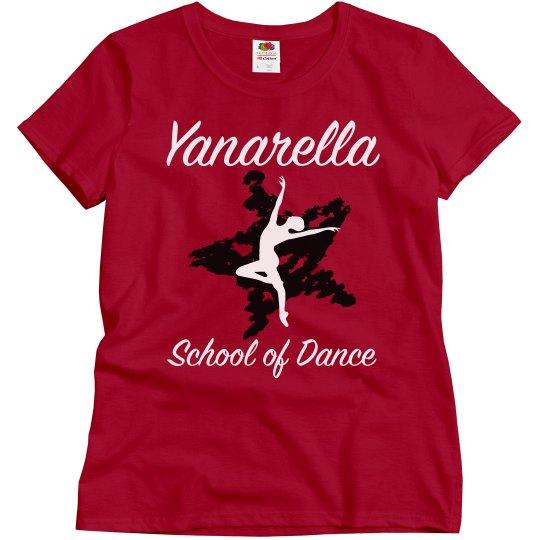 YSD Red Tee- Dance Mom