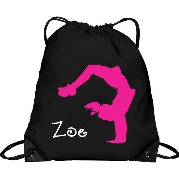Zoe cheerleader bag