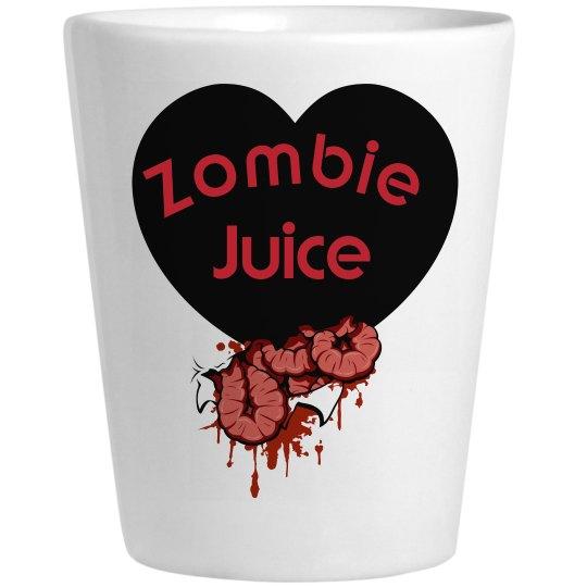Zombie Halloween Zombie Juice Shot Glass