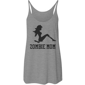Zombie Mom Mothers Day Tank