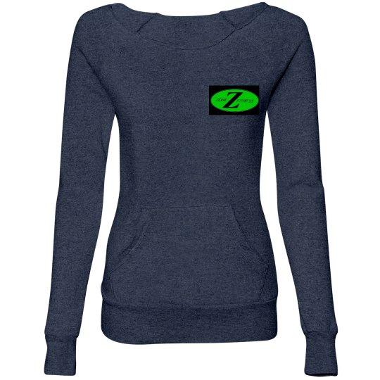 ZZF Open Neck Sweat Shirt