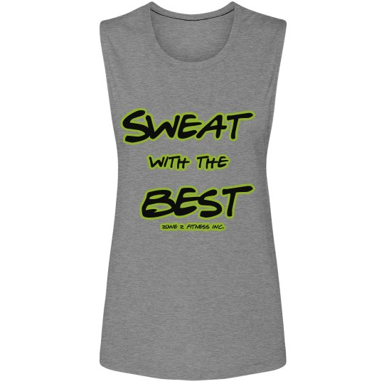 ZZF Sweat with the Best Muscle tee
